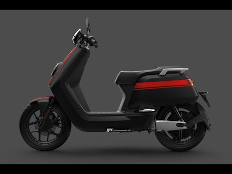 Niu NQiGTS Sport 3.1Kw Electric Moped Static Review & Comparison to rest of range - Green-Mopeds.com