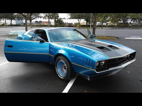 Man Builds His Dream Muscle Car With LT1 Engine Out Of His Old Ugly Car
