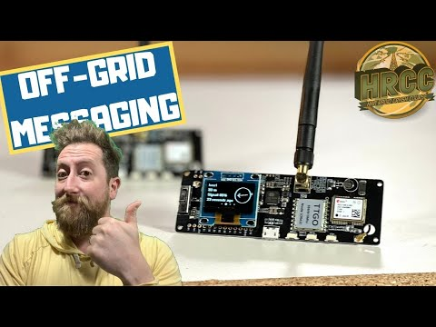 Wireless, Off-Grid, No-License Communication For .99 (LoRa Meshtastic)
