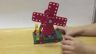 KỸ THUẬT LỚP 4 - HƯỚNG DẪN LẮP RÁP MÔ HÌNH CON QUAY GIÓ - LEGO GAME TRÒ CHƠI LẮP RÁP -