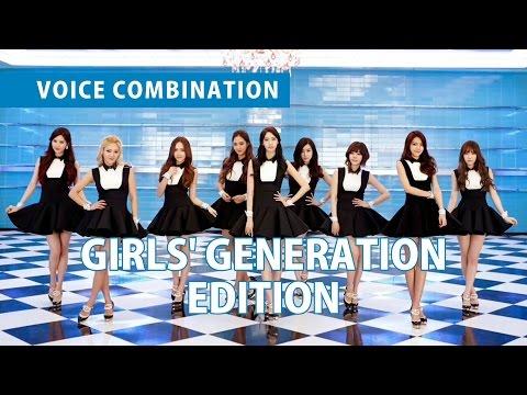 VOICE COMBINATION | GIRLS' GENERATION