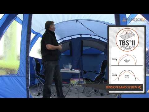 video Vango Langley 500 Family Tent