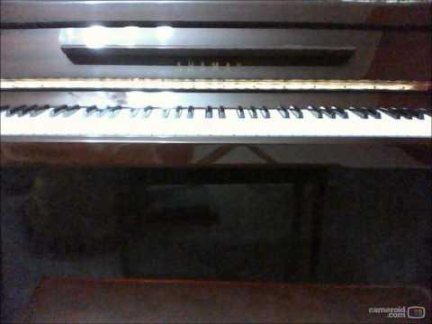 蔡健雅-抛物线 钢琴