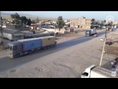 واشنطن ترسل ١٠٠ شاحنة مقطورة بأسلحة للوحدات الكردية بينما تزود الجيش الحر بعدة صناديق