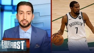 Nick Wright talks the Brooklyn Nets' chemistry and defensive issues | NBA | FIRST THINGS FIRST