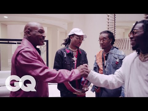 Mike Tyson Takes Migos on a Tour of His Mansion | GQ