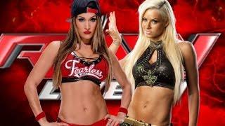 WWE 2K17 - Nikki Bella vs Maryse / Universe Mode #29
