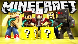 JOEY vs GRASER LUCKY BLOCK CHALLENGE!