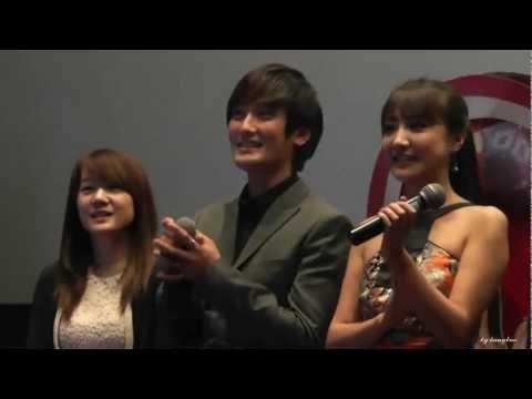[Fancam] 121226 - Kangta singing @ Secret Garden China Movie Film public reference
