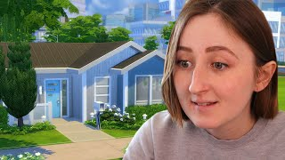 Building a Mid Century Modern House in The Sims 4