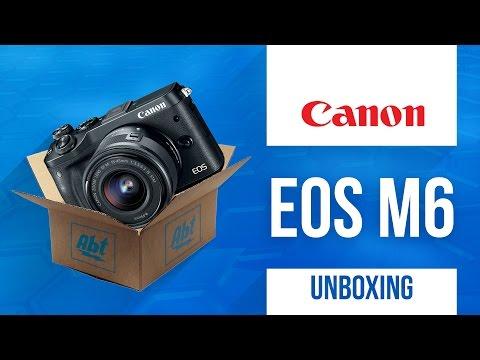 Unboxing: Canon EOS M6