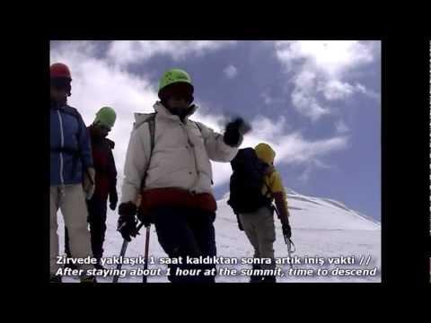 Ağrı Dağı Tırmanışı 2001