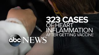 CDC reviews cases of heart inflammation following vaccine