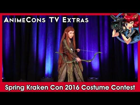 AnimeCons TV Extras - Spring Kraken Con 2016 Costume Contest