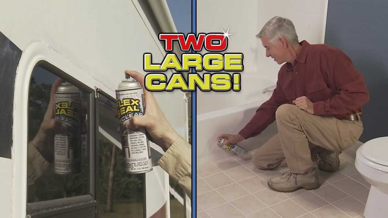 Flex Seal 174 Clear Official Commercial Getflexseal Youtube