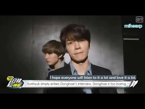 [ENG SUB] 150519 Super Junior D&E Growing Pains MV Making