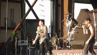 "Hollywood Undead ""No. 5"" Rock Fest, Cadott, Wisconsin 7/20/12 live concert"