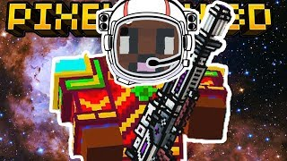 NEW SPACE RIFLE WEAPON!! | Pixel Gun 3D