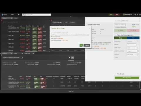 Trading on Standard Online Iress ViewPoint – CFDs, Index Futures, Currency Futures