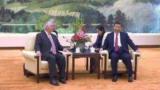 Tillerson Meets Top Chinese Leaders in Beijing