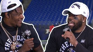 "Mark Ingram on Lamar Jackson ""That's a WILD DOG!!"" 
