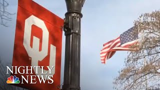 Two University Of Oklahoma Students Leave School After Blackface Routine | NBC Nightly News