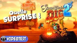 Vidéo-Test SteamWorld Dig 2 par Bibi300