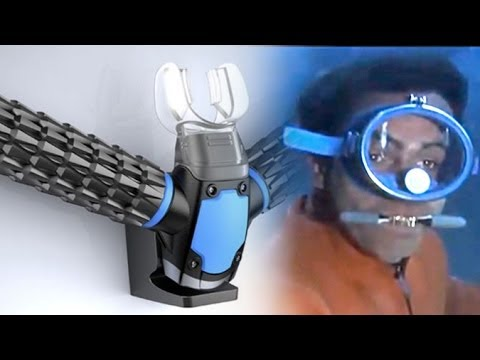 Wanna Breathe Underwater Like James Bond Maybe This Can
