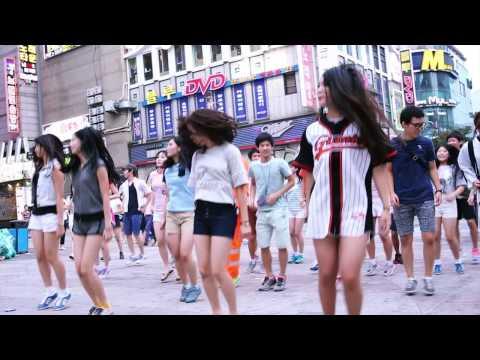 Flashmob : Gu-Wall-Dong PaPaPa / 구월동 빠빠빠 40기통 - 인천응원연합 @구월동 로데오거리