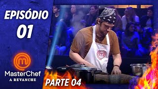 MASTERCHEF A REVANCHE (15/10/2019)   PARTE 4   EP 01   TEMP 01