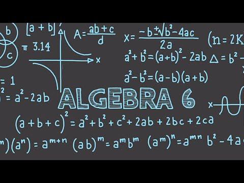 Algebra Tutorial 6 : Rate of Change