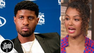 Paul George's health is the only reason to doubt the Clippers - Malika Andrews | The Jump