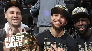 Steph, Klay and Draymond are the best Big 3 in the NBA - Max Kellerman   First Take