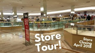 STORE TOUR: Lord & Taylor, Westfield Old Orchard, Skokie IL (STORE CLOSING)