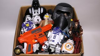 Toy Box: Star Wars Mashers, Cars, Kinder Joy, Darth Vader, Stormtrooper, Action Figures and More