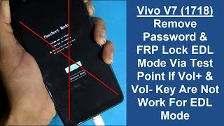 Vivo y71 hard reset pattern reset solutions New solution with edl