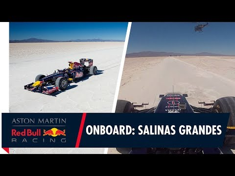 On Board with Daniel Ricciardo at the Salinas Grandes salt flats in Argentina
