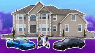 MY BRAND NEW HOUSE!