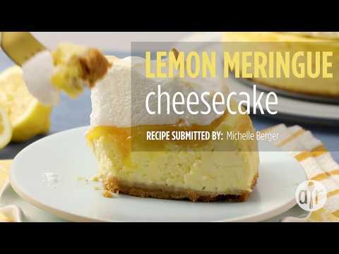 How to Make Lemon Meringue Cheesecake | Cheesecake Recipes | Allrecipes.com