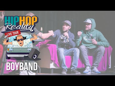 HIPHOP REALITY #36 LIVE - BoyBand  SPECIAL 