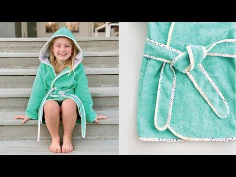 Sew a Robe | Bathrobe | Beach Robe