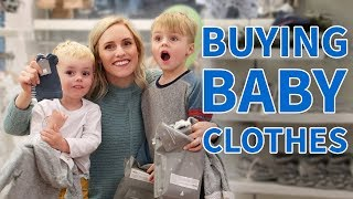 BIG BROTHERS BUY BABY CLOTHES! 👶🏻