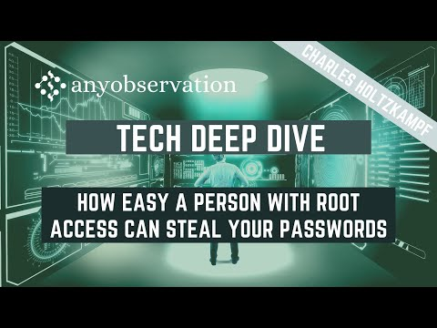 How easy a hacker steals your web server passwords | Tech Deep Dive with Charles Holtzkampf