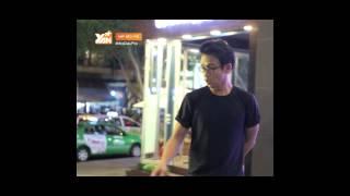 """Quang Bảo """"hết hồn"""" vì Kim Nhã ăn mặc đẹp đi bar"""