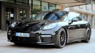 *Combined fuel consumption in accordance with EU 5: Panamera Turbo S: 10.3-10,2 l/100 km, CO2 emission 242-239 g/km