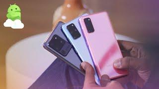 Galaxy S20 vs S20 Plus vs S20 Ultra: What's The Difference? [Samsung Comparison]