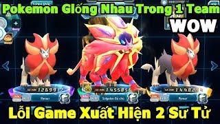 Lỗi Game: Xuất Hiện 2 Pokemon Sư Tử Giống Nhau Cùng 1 Team - Đánh Bại Pokemon Hơn Lực Chiến