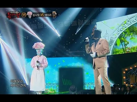 【TVPP】Minkyung(Davichi) - 'Some' with Jaewook Jung , 민경(다비치) - '썸' with 정재욱 @ King of masked singer