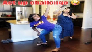 ACT UP CHALLENGE ON MY MOM PRANK !   IAMJUSTAIRI
