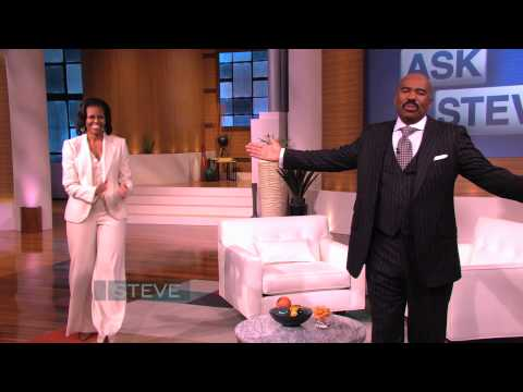STEVE HARVEY - Ask Steve & FLOTUS